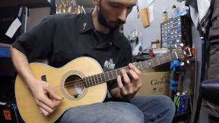 """How to play """"I Am Yours If You Want Me"""" on Tenor Guitar (Or mandolin)"""
