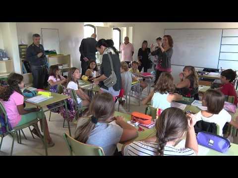 L'escola de Vilanant passa dels barracons a l'Ajuntament