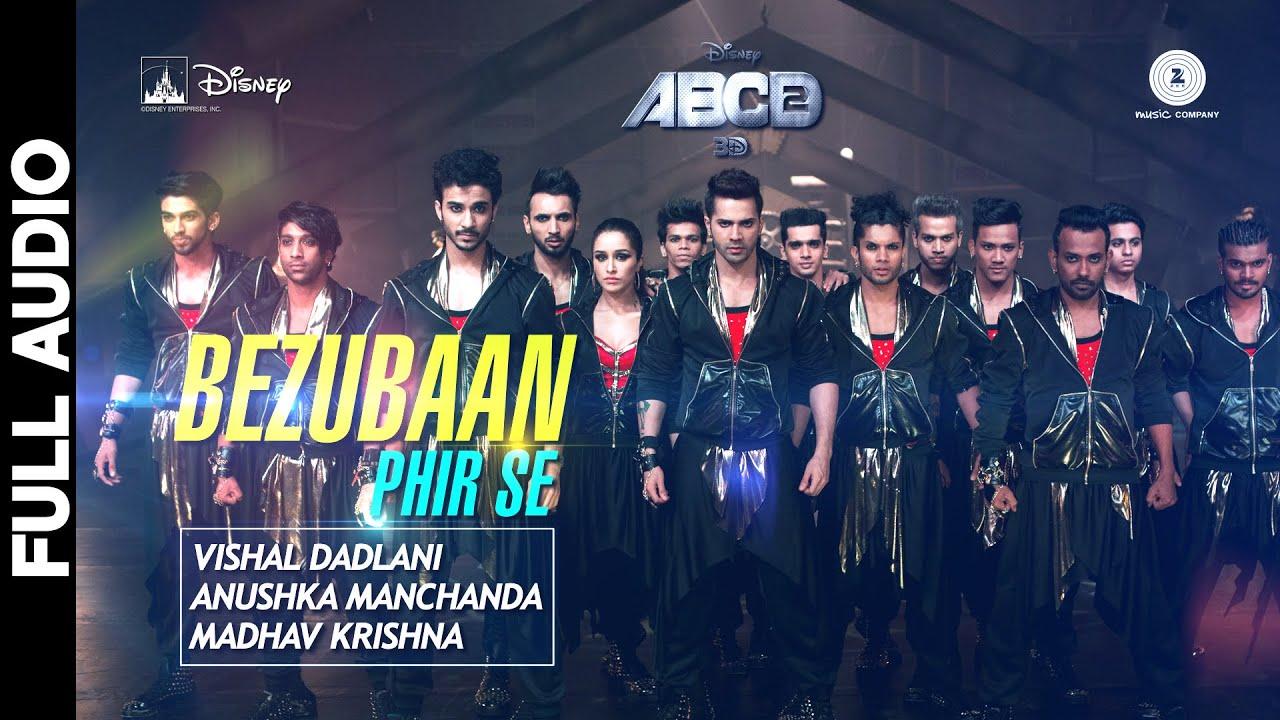 Bezubaan Bab Se Lyrics - ABCD