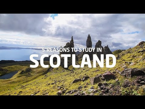 5 Reasons to Study in Scotland