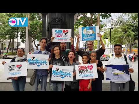 Vídeo desde la Plaza Simón Bolívar de Caracas , el pueblo venezolano solidario con el pueblo y Gobierno de Nicaragua.