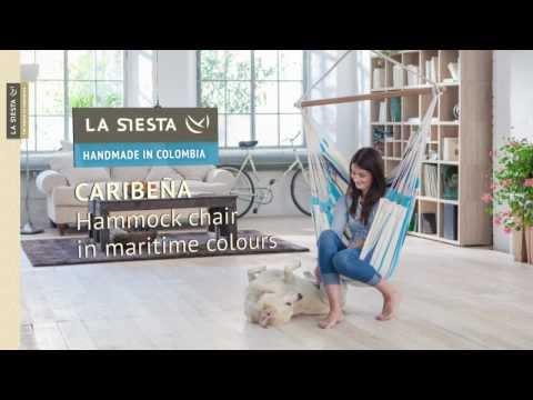 La Siesta Caribeña 1-persoons hangstoel
