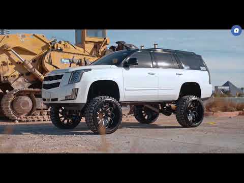 Audiocityusa   Cadillac Escalade  GF10  GRID Off Road Wheels