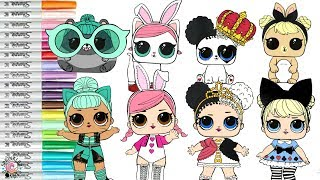Lol Dolls Coloring Videos Kenh Video Giải Tri Danh Cho Thiếu Nhi