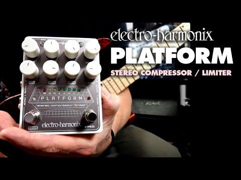 ELECTRO HARMONIX Platform Stereo Kytarový efekt