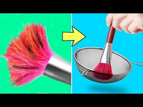 38 EASY AND SMART MAKEUP HACKS