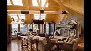 Rustic Style Lodge Decor