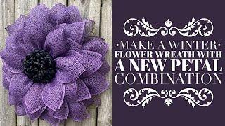 Flower Wreath Tutorial / How To Make A Wreath Tutorial