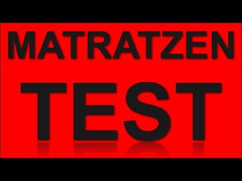 Matratzen Test