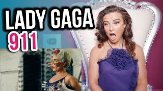 Vocal Coach Reacts to Lady Gaga - 911