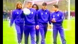 Nederlands Elftal, training Oisterwijk 1994