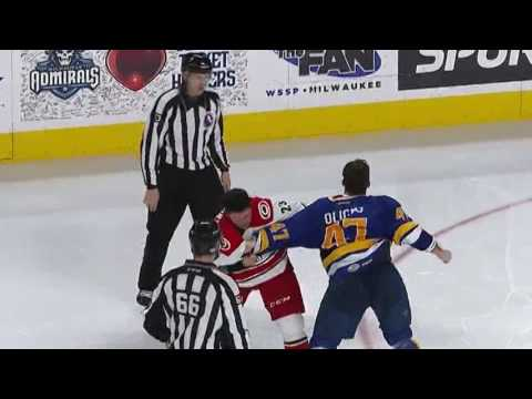 Jimmy Oligny vs. Kris Newbury
