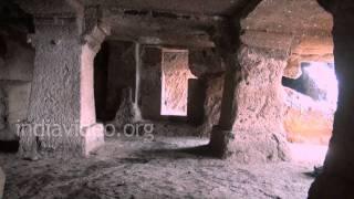 Lohani caves and hills at Mandu