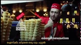 Turkish Ice cream guy having fun at Global Village Dubai 2018| Gulf News