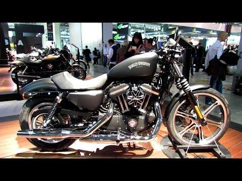 2014 Harley-Davidson Sportster Iron 883 XL883N Walkaround - 2013 EICMA Milan Motorcycle Exibition