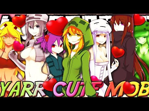 Minecraft Anime Girl Mobs (Cute Mob Mod) Mod Review