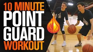 10 Minute POINT GUARD WORKOUT with Coach Damin Altizer