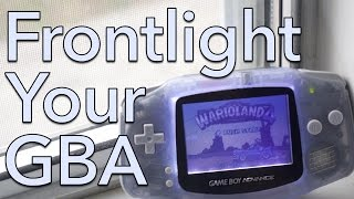 Frontlight Your Game Boy Advance!