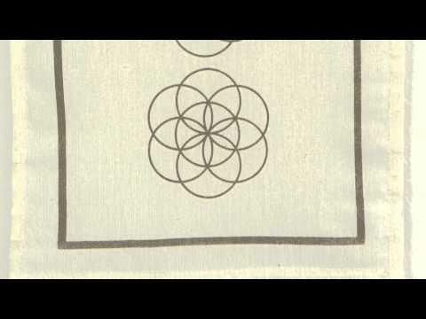 """Wandbehang """"Blume des Lebens"""""""