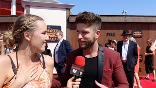 Chris Lane Talks About Touring With The Rascal Flatts ACCAs 2016 Red Carpet