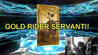 Iskandar  - (Fate/Grand Order) - Fate/Grand Order: Summon Isakandar Part 2 Is this Gold Rider Card Iskandar!!?