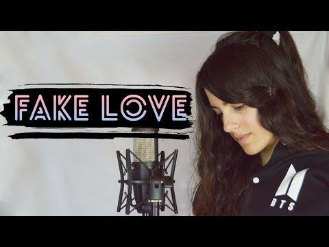 BTS - FAKE LOVE (cover español en acústico)