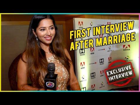 Ridheema Tiwari First Interview After Marriage