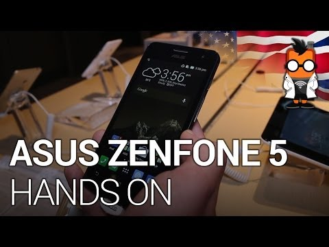 ASUS Zenfone 5 with Snapdragon 400 & LTE at Computex 2014