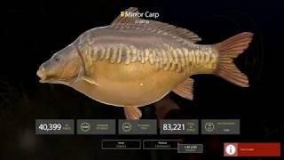 Russian Fishing 4 - Catching a 25.9KG Trophy Mirror Carp