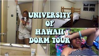 University Of Hawaii Dorm Tour Vlog   Life As Gabi♡♡♡