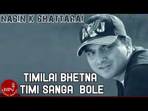 Nabin K Bhattarai | Timilai Bhetne Timi Sanga Bolne | Top Nepali Pop Song | Music Dot Com