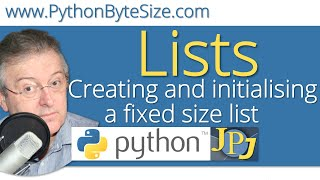 Creating and initialising a fixed size Python list