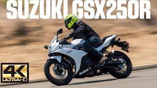 2018 suzuki 250r. unique 250r 2018 suzuki gsx250r review  4k in suzuki 250r s