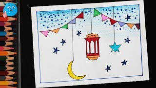Happy Ramadan Kareem Greetings & Wishes Card Making Tutorial