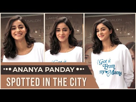 Ananya Panday makes a stylish appearance in the city   Pinkvilla Raw   Bollywood