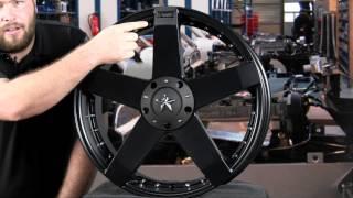 KMC XD775 Rockstar Car Wheel