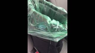 Auto trash can and organizer review!