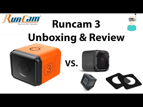 RunCam 3 - Unboxing, Review And Comparison with GoPro Session 5