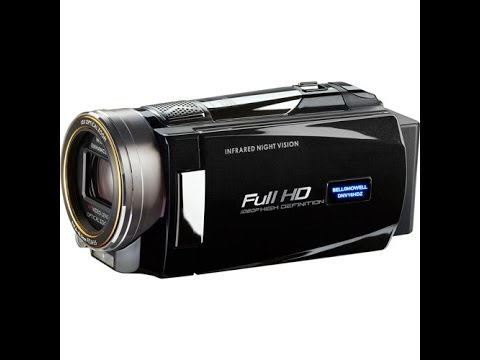 IR Camcorder Test - Bell and Howell DNV16HDZ-BK Full 1080p HD