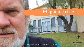 Nobody likes a hypocrite. Mark 12:38-40