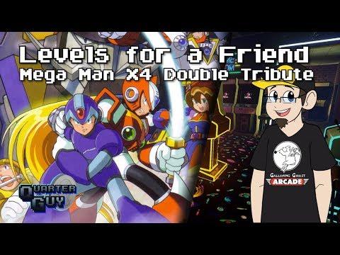 Super Mario Maker 2 - Levels for a Friend - Mega Man X4 Double Header