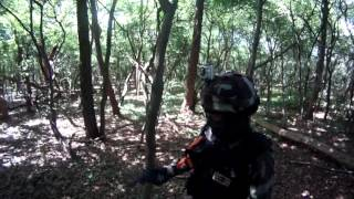 preview picture of video 'Airsoft HgFR Mode Zombie sur TAVERNY 01.07.2012'