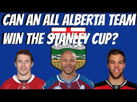 CAN AN ALL ALBERTA TEAM WIN THE STANLEY CUP? | NHL 17 | ARCADE REGIMENT