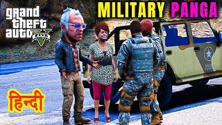 GTA 5 - Trevor Nikla Mother Ko Leke Aur Ho Gaya MILITARY SE PANGA