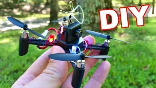 DIY FPV Drone - DM002 Build it Yourself - Dirt Cheap and Easy to Build and Fly! - TheRcSaylors