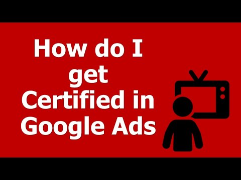 How do I get Certified in Google Ads / AdWords? - YouTube