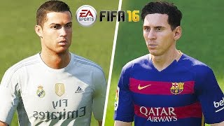 FIFA 16 Gameplay - Barcelona vs Real Madrid [ High Quality Mp3 60FPS] El Clasico