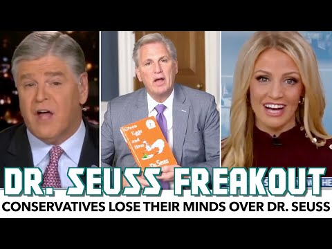 Conservatives Lose Their Minds Over Dr. Seuss