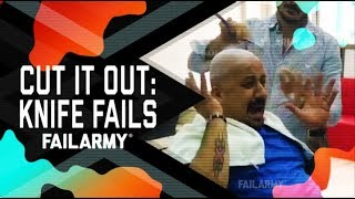 Cut it Out: Knife Fails (October 2018) | FailArmy