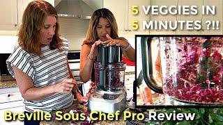Breville Sous Chef Pro Food Processor Review 2019